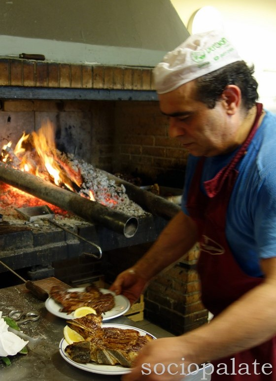 La Speranza restaurant known for grilled meats in Colle Val D'Elsa