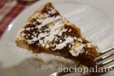 Fig tart at da bule the best bistecca fiorentina restaurant in chianti