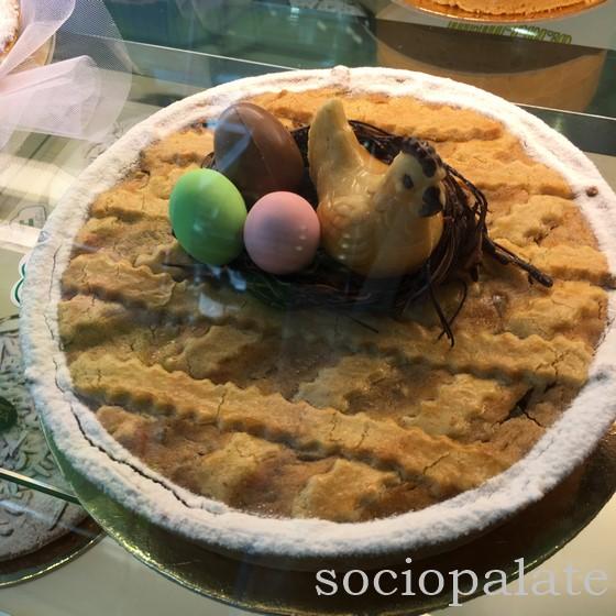 Italian Easter dessert from Naples