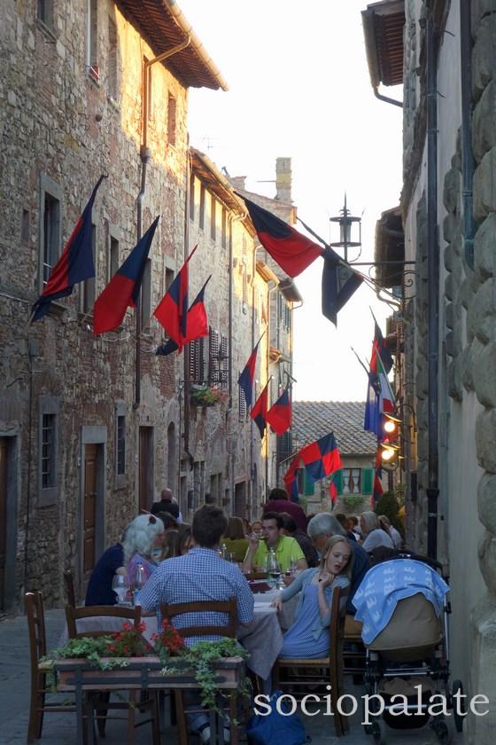 Trattoria la Toppa restaurant in San Donato