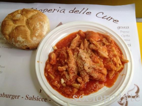 Trippa alla Fiorentina tripe and tomato stew
