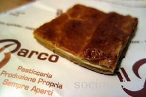 Scendiletto pasty at Barco Pasticceria