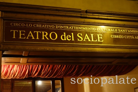 Teatro del Sale restaurant, one of the best places to go in Florence