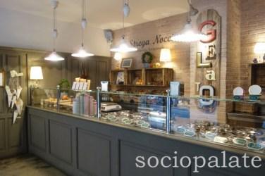 La Strega Nocciola ice cream shop, Florence