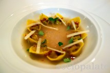 Michellin-starred-fine-dining-guinea-hen-tortellini-with-champagne-broth-at-ora-d'aria-in-florence