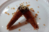 Cantucci with Vin Santo Dessert at Michelin starred Ora d'Aria restaurant in Florence