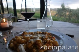 cantinetta di rignana restaurant with a view in chianti