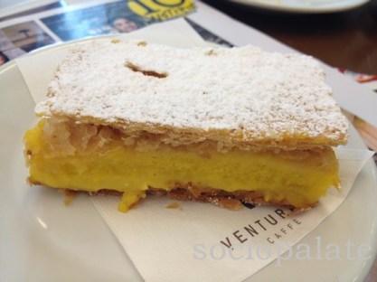 decadent pastry diplomatico at Pecchia pasticceria in follonica italy
