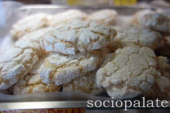 Riciarelli sweet almond cookies from Siena