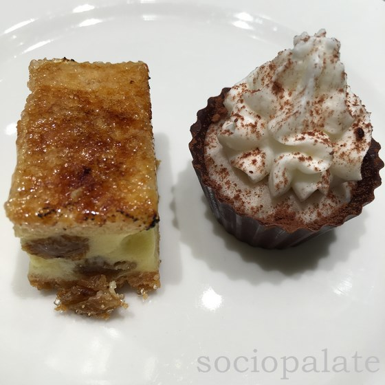 Mignon pastries at Pasticceria Stefania the best pastry shop in Florence