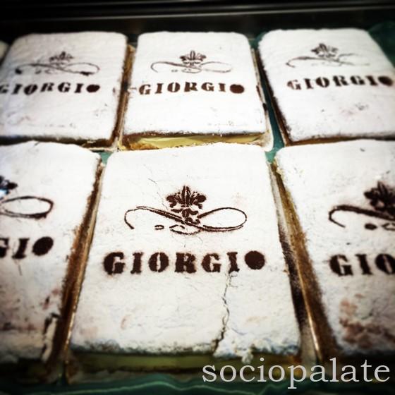Best Schiacciata Fiorentina in Florence at Giorgio Pasticceria