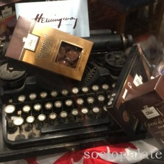 Hemingway bar in florence is famous for chocolate